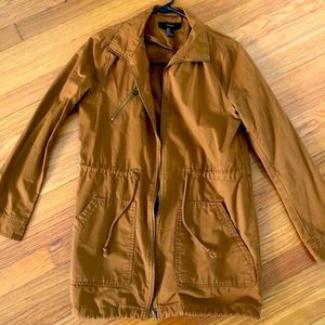 Forever 21 Tan Utility/Fall/Spring Jacket